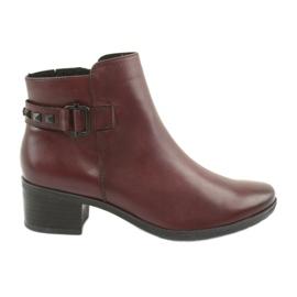 Støvler kvinder Caprice 25433 bordeaux