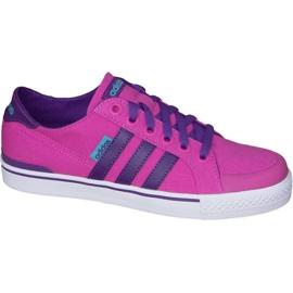 Pink Adidas Clementes K Jr F99281 sko