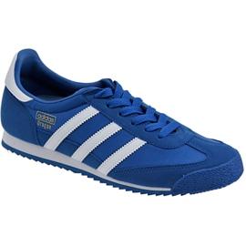 Blå Adidas Dragon Og Jr BB2486 sko