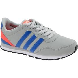 Grå Adidas V Jog K Jr AW4147 sko