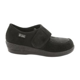 Sort Befado kvinders sko pu 984D012