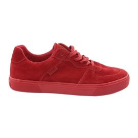 Big Star rød Red Star Big Sneakers 174364