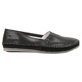 Filippo Sort læder sneakers slip