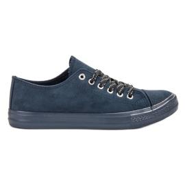 McKey Komfortable Navy Sneakers