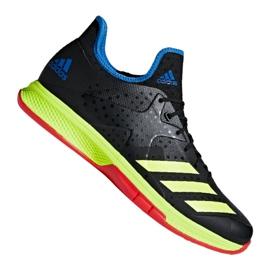 Adidas Counterblast Bounce M BD7408 håndboldsko sort sort, gul