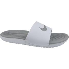 Tøfler Nike Kawa Slide 834588-100 hvid