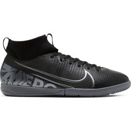 Fodboldsko Nike Mercurial Superfly 7 Academy Ic Jr AT8135 001 sort