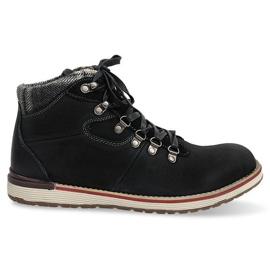 Isolerede sko med høje støvler SH23 Sort