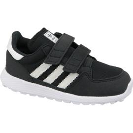 Sort Adidas Originals Forest Grove Cf Jr B37749 sko