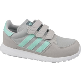 Grå Adidas Originals Forest Grove Cf Jr CG6709 sko