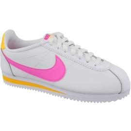 Nike Classic Cortez Læder W 807471-112 hvid