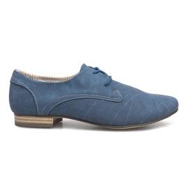 Blå sko Simone Jazzówki