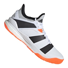 Adidas Stabil XM F33828 sko hvid hvid