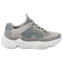 SHELOVET Moderigtigt Grå Sneakers