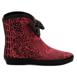 Kylie gummistøvler rød