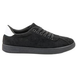 Ideal Shoes Sort snøresko