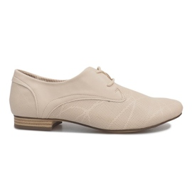 Beige sko Jazz Simone brun