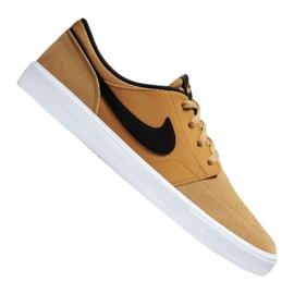 Brun Nike Sb Solarsoft Portmore Ii M 880266-700 sko