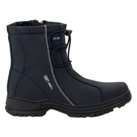 Ax Boxing Marineblå sne-støvler