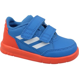 Blå Adidas AltaSport Cf I D96842 sko