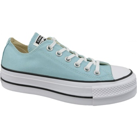 Blå Converse Chuck Taylor All Star Lift W 560687C sko