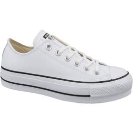Hvid Converse Chuck Taylor All Star Lift Clean Ox W 561680C