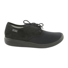 Sort Befado kvinders sko pu 990M001