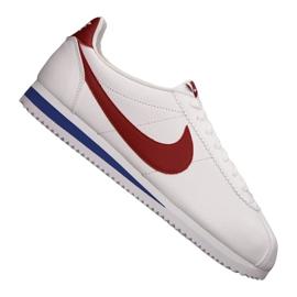 Hvid Nike Classic Cortez Læder M 749571-154 sko