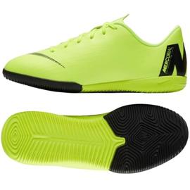Nike Mercurial VaporX 12 Academy Gs Ic Jr AJ3101 701 grønne sko