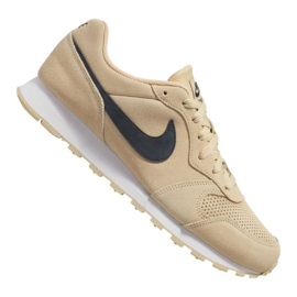 Brun Nike Md Runner 2 Suede M AQ9211-700 sko