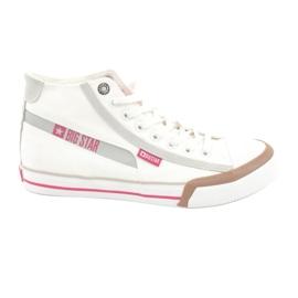 Herre sneakers Big Star 174080 hvid