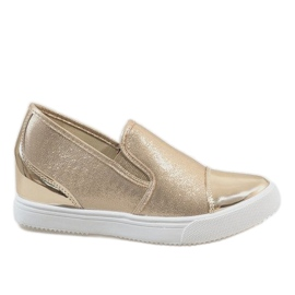 Wedge sneakers DD436-8 gul