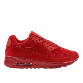 Rødt herresportsfodtøj 55109-2
