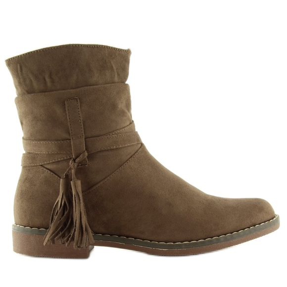 Brune kvinders sko 4169 Khaki
