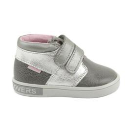 Velcro sko Mazurek 1355 grå
