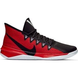 Nike Zoom Evidence Iii M AJ5904 001 sko sort og rød