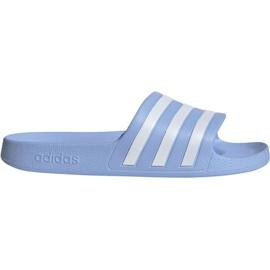 Blå Adidas Adilette Aqua W EE7346 hjemmesko