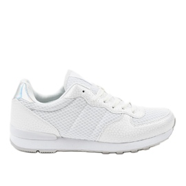 Hvidt sportsfodtøj til herrer 5535A-1