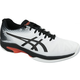 Hvid Asics Solution Speed ​​Ff Indoor M 1041A110-102 tennissko