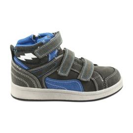 American Club ES27 grå høje sneakers