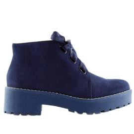 Støvletøj damessko mørkeblå LL219 Blå navy