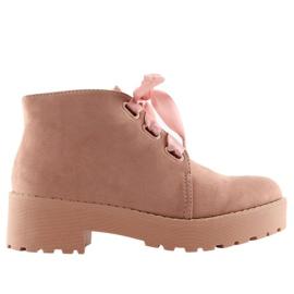 Støvler til kvinder pink LL219 Pink