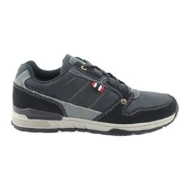 American Club AA08 marineblå sneakers