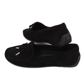 Sort kvinders loafers R812 Sort