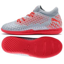 Puma Futrure 4.4 It Jr 105700 01 grå sko