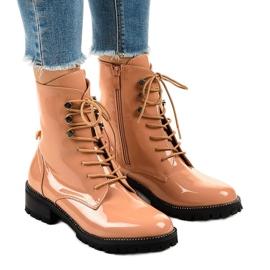 Pink kvinders høje støvler XW37278