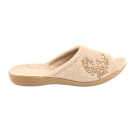 Brun Befado kvinders sko pu 256D013