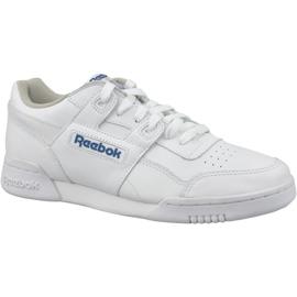 Hvid Reebok Classic Workout Plus M 2759 sko