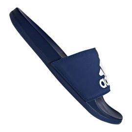 Blå Adidas Adilette Comfort Plus M B44870 hjemmesko