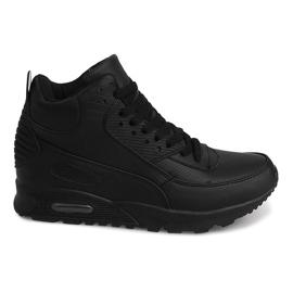 Høj Sneakers B3701 Sort